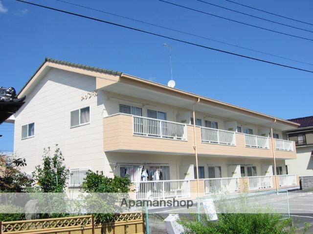 茨城県笠間市、友部駅徒歩25分の築21年 2階建の賃貸アパート