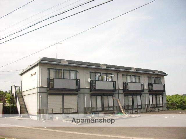 茨城県笠間市、友部駅徒歩42分の築21年 2階建の賃貸アパート