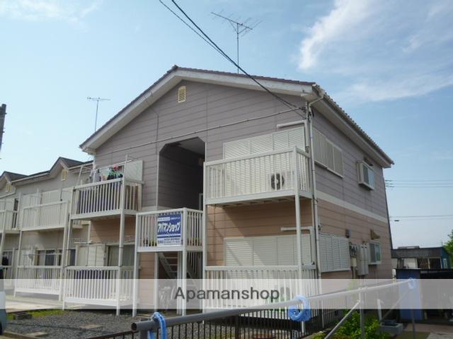 茨城県笠間市、友部駅徒歩40分の築23年 2階建の賃貸アパート