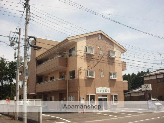 茨城県笠間市、友部駅徒歩55分の築27年 3階建の賃貸アパート