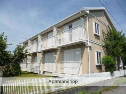 茨城県笠間市、友部駅徒歩30分の築24年 2階建の賃貸アパート