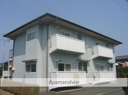 茨城県笠間市、友部駅徒歩15分の築24年 2階建の賃貸アパート