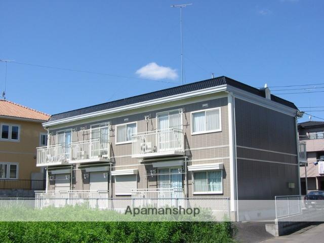 茨城県笠間市、友部駅徒歩13分の築22年 2階建の賃貸アパート