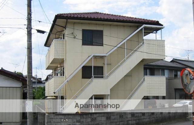 茨城県笠間市、友部駅徒歩30分の築27年 3階建の賃貸アパート