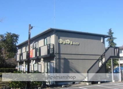 茨城県笠間市、岩間駅徒歩4分の築21年 2階建の賃貸アパート
