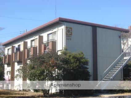 茨城県笠間市、岩間駅徒歩4分の築28年 2階建の賃貸アパート