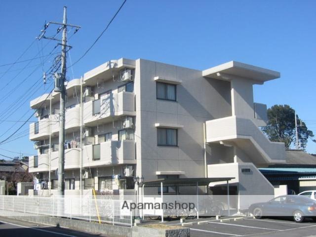 茨城県笠間市、岩間駅徒歩3分の築18年 3階建の賃貸マンション