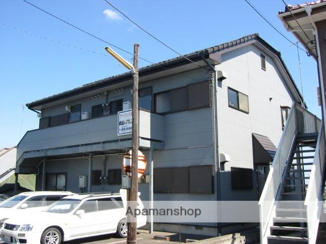 茨城県笠間市、友部駅徒歩10分の築20年 2階建の賃貸アパート