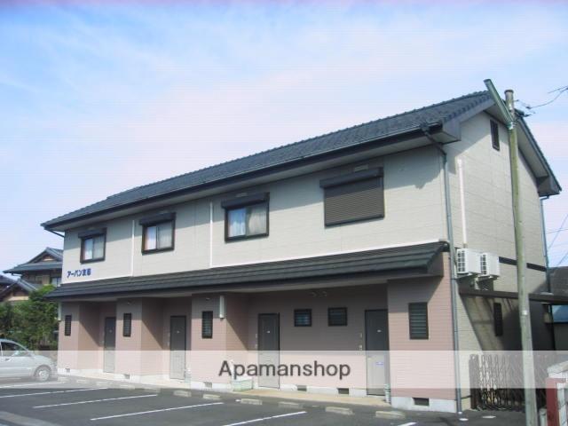 茨城県笠間市、友部駅徒歩8分の築19年 2階建の賃貸アパート