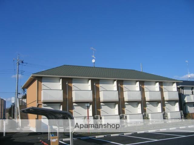 茨城県笠間市、友部駅徒歩14分の築11年 2階建の賃貸アパート