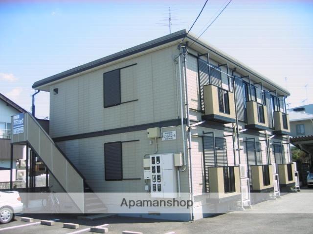 茨城県笠間市、友部駅徒歩3分の築17年 2階建の賃貸アパート