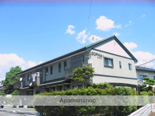 茨城県笠間市、友部駅徒歩17分の築13年 2階建の賃貸アパート