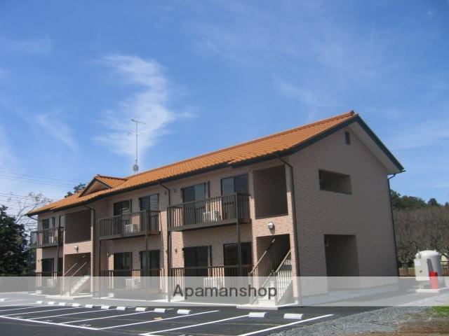 茨城県笠間市、友部駅徒歩50分の築10年 2階建の賃貸アパート