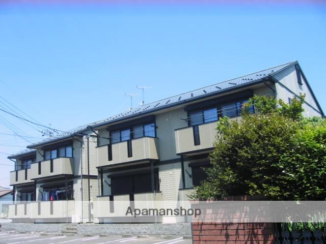 茨城県笠間市、友部駅徒歩18分の築18年 2階建の賃貸アパート