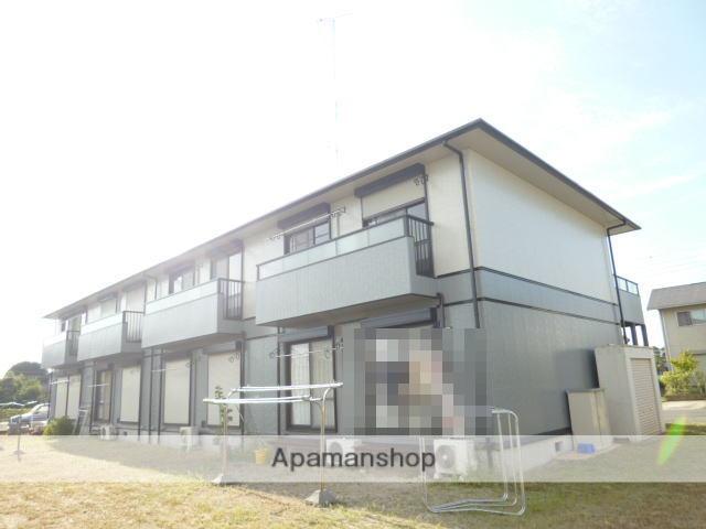 茨城県笠間市、友部駅徒歩16分の築19年 2階建の賃貸アパート