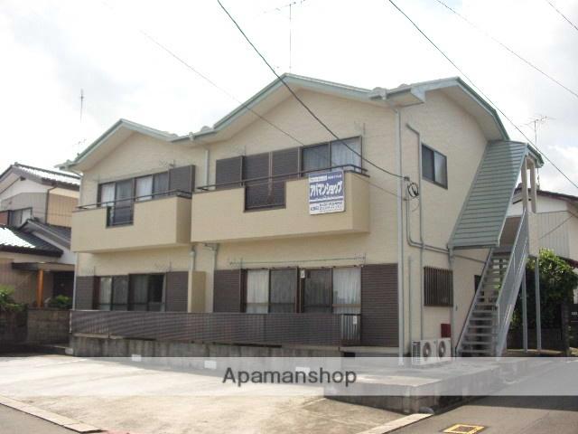 茨城県笠間市、友部駅徒歩45分の築21年 2階建の賃貸アパート