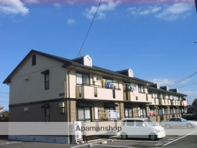 茨城県笠間市、友部駅徒歩12分の築21年 2階建の賃貸アパート