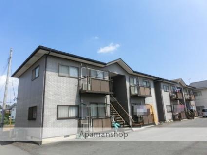 茨城県笠間市、友部駅徒歩20分の築18年 2階建の賃貸アパート