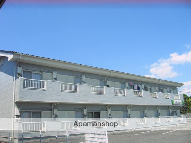 茨城県笠間市、友部駅徒歩10分の築23年 2階建の賃貸アパート