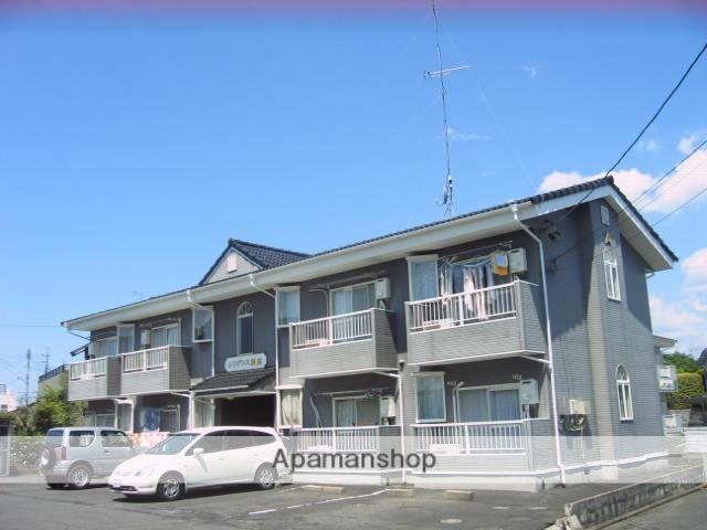 茨城県笠間市、友部駅徒歩10分の築27年 2階建の賃貸アパート