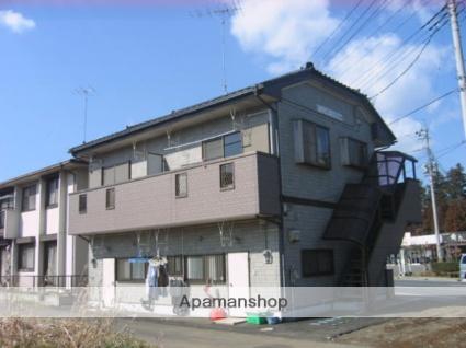 茨城県笠間市、岩間駅徒歩15分の築19年 2階建の賃貸アパート