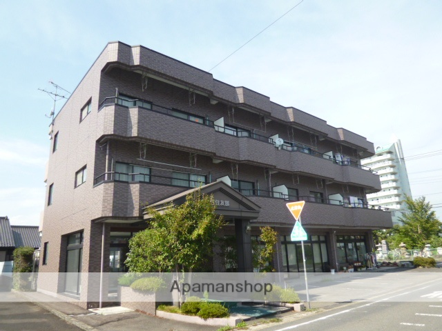 茨城県笠間市、友部駅徒歩45分の築23年 3階建の賃貸マンション