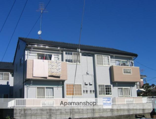 茨城県笠間市、友部駅徒歩9分の築21年 2階建の賃貸アパート