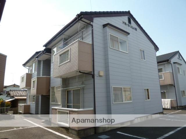 茨城県笠間市、友部駅徒歩9分の築22年 2階建の賃貸アパート