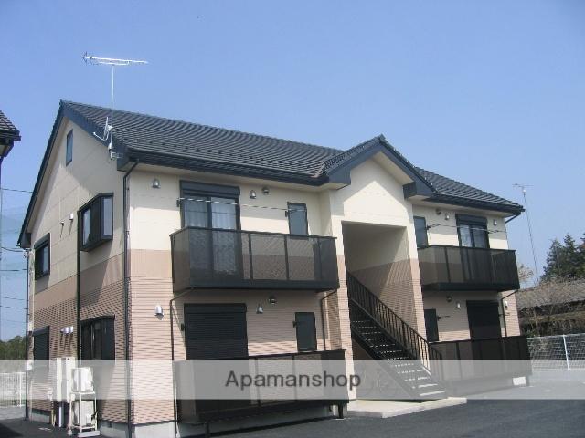 茨城県笠間市、友部駅徒歩25分の築12年 2階建の賃貸アパート