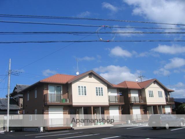 茨城県笠間市、友部駅徒歩8分の築12年 2階建の賃貸アパート