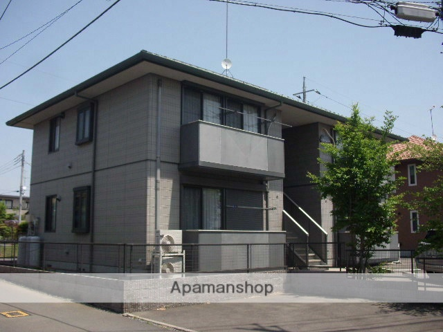 茨城県笠間市、友部駅徒歩8分の築15年 2階建の賃貸アパート