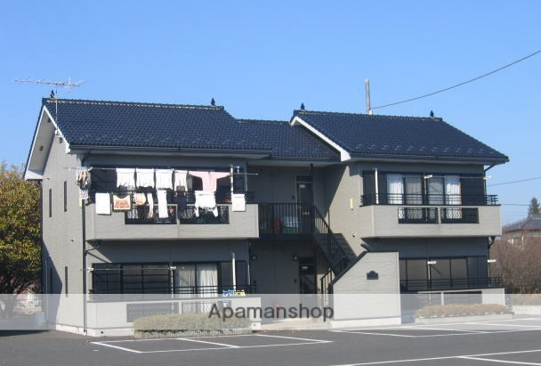 茨城県笠間市、友部駅徒歩55分の築19年 2階建の賃貸アパート