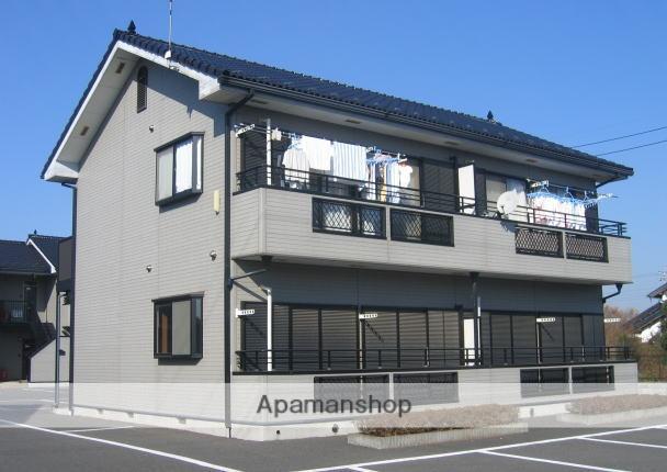 茨城県笠間市、友部駅徒歩55分の築20年 2階建の賃貸アパート