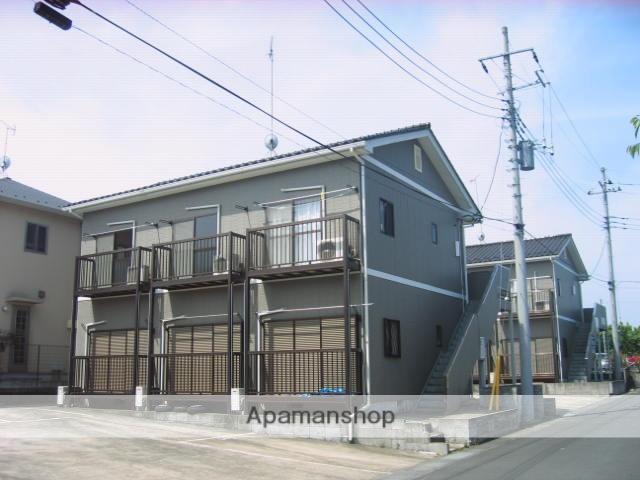 茨城県笠間市、友部駅徒歩10分の築19年 2階建の賃貸アパート