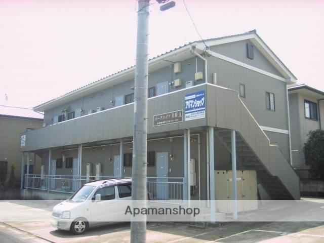 茨城県笠間市、友部駅徒歩12分の築18年 2階建の賃貸アパート