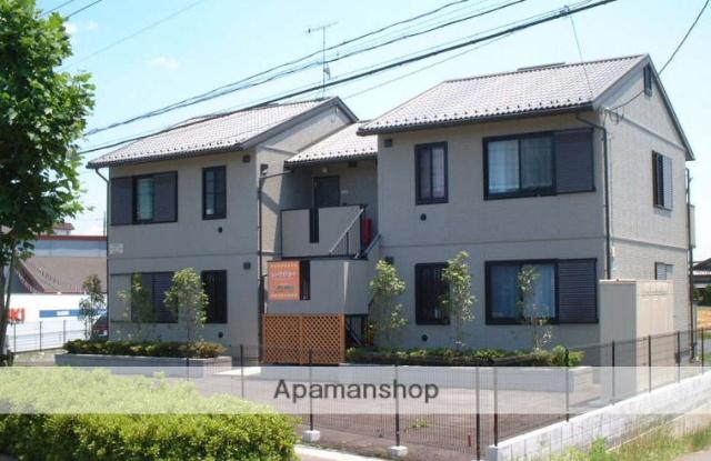 茨城県笠間市、笠間駅徒歩6分の築15年 2階建の賃貸アパート