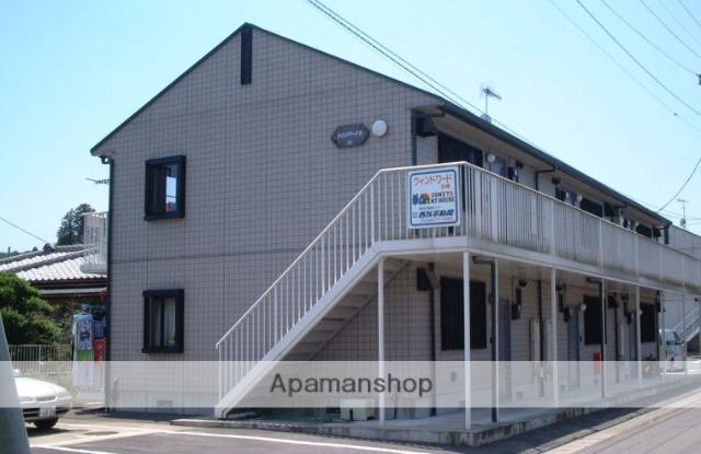 茨城県笠間市、笠間駅徒歩17分の築19年 2階建の賃貸アパート
