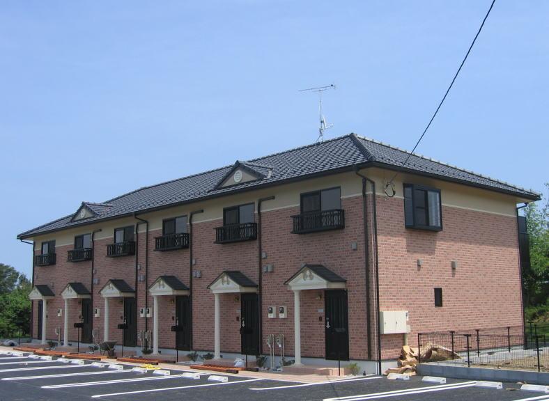 茨城県笠間市、友部駅徒歩16分の築12年 2階建の賃貸テラスハウス