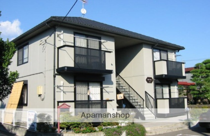 茨城県笠間市、笠間駅徒歩5分の築19年 2階建の賃貸アパート