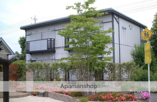茨城県笠間市、笠間駅徒歩10分の築26年 2階建の賃貸アパート