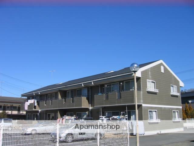 茨城県笠間市、笠間駅徒歩30分の築23年 2階建の賃貸アパート