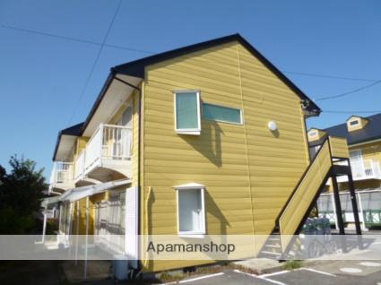 茨城県笠間市、友部駅徒歩15分の築28年 2階建の賃貸アパート