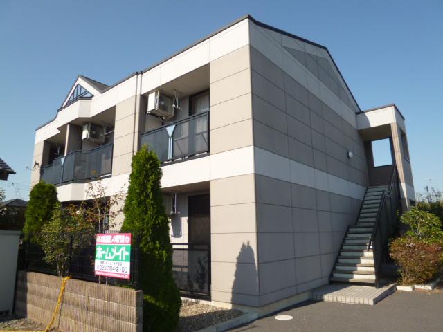 茨城県笠間市、友部駅徒歩25分の築11年 2階建の賃貸アパート