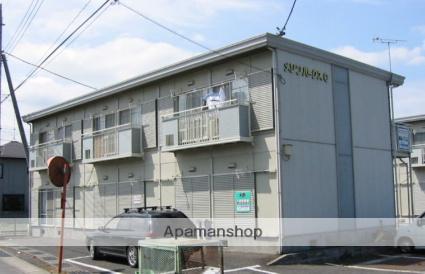 茨城県笠間市、友部駅徒歩25分の築24年 2階建の賃貸アパート
