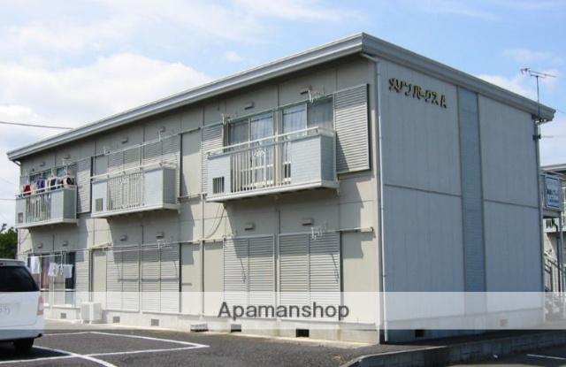 茨城県笠間市、友部駅徒歩25分の築25年 2階建の賃貸アパート