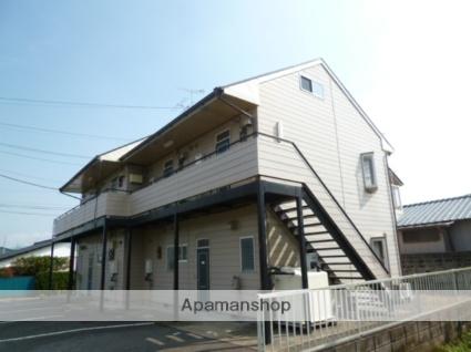 茨城県笠間市、友部駅徒歩20分の築26年 2階建の賃貸アパート