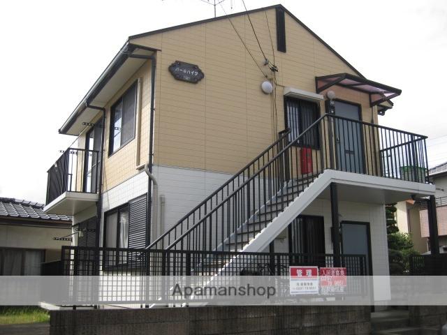 茨城県笠間市、友部駅徒歩17分の築20年 2階建の賃貸アパート