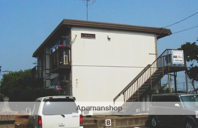 茨城県笠間市、友部駅徒歩20分の築29年 2階建の賃貸アパート