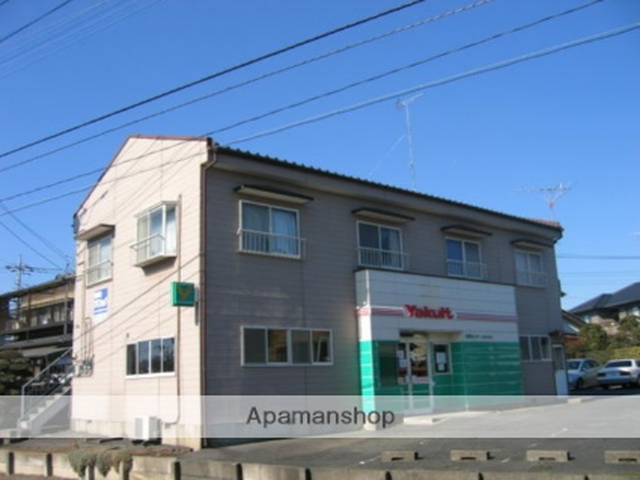 茨城県笠間市、友部駅徒歩12分の築26年 2階建の賃貸アパート