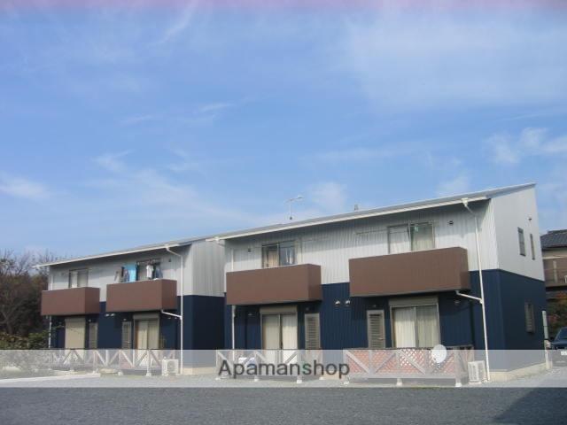 茨城県笠間市、友部駅徒歩22分の築9年 2階建の賃貸アパート